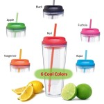 Infuse Tumbler - Large 20oz Size! - 6 Colors