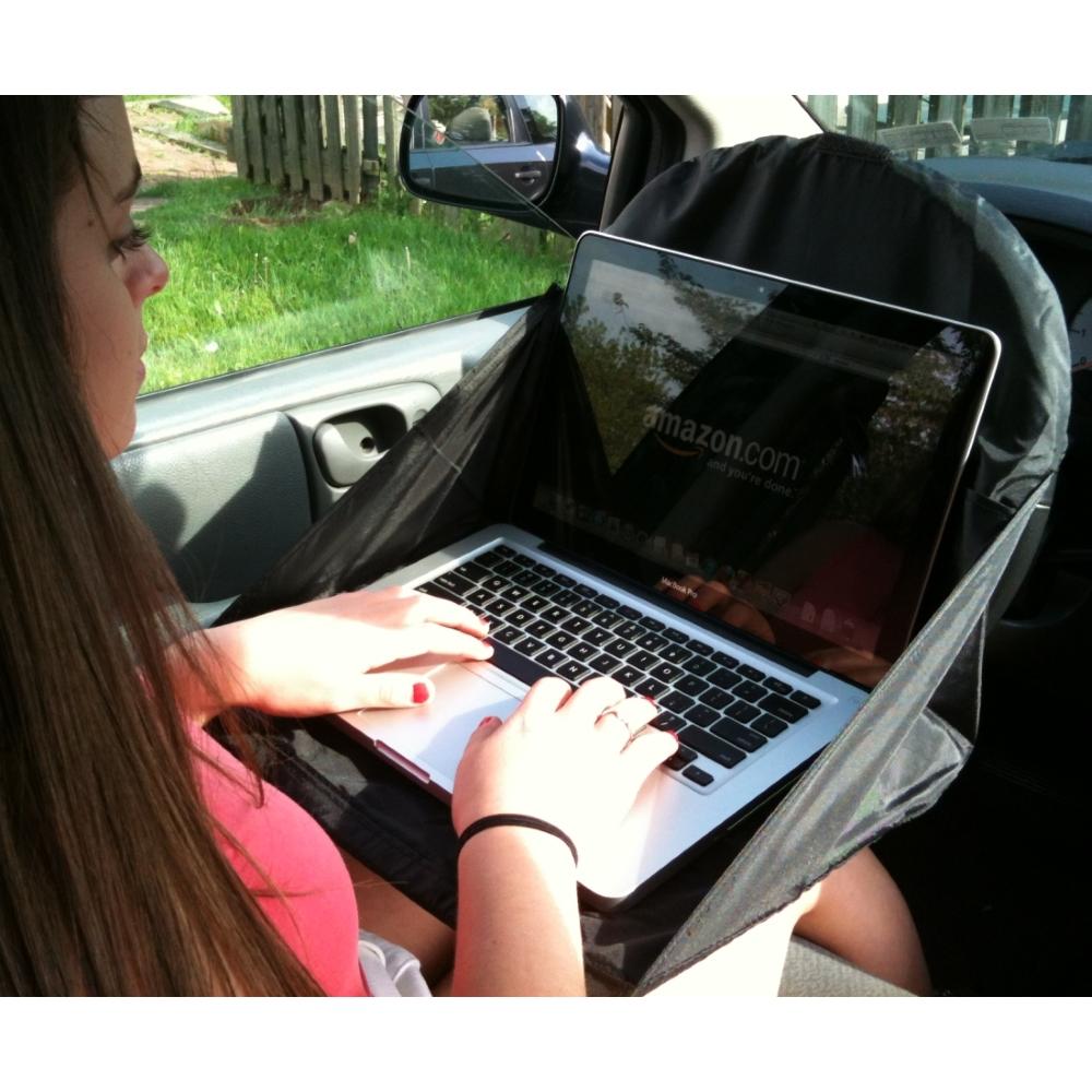 The Lap Topper | A Unique Mobile Office Desktop!