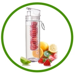 Many Infuser Bottles to Choose From