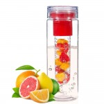 Fruit Fuse - Water Infuser Bottle. - Red